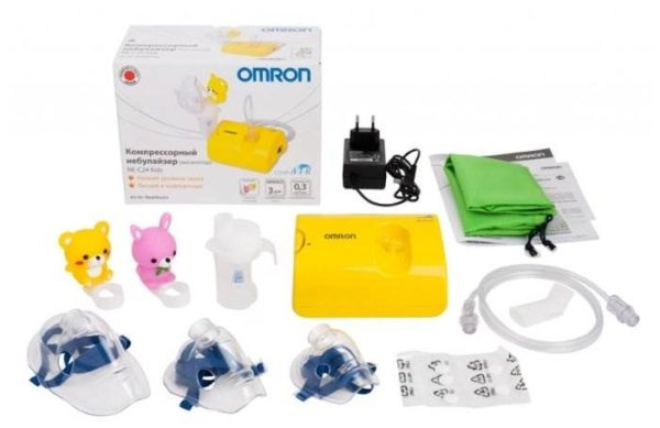 Компрессорный ингалятор (небулайзер) Omron Comp Air NE-C24 Kids