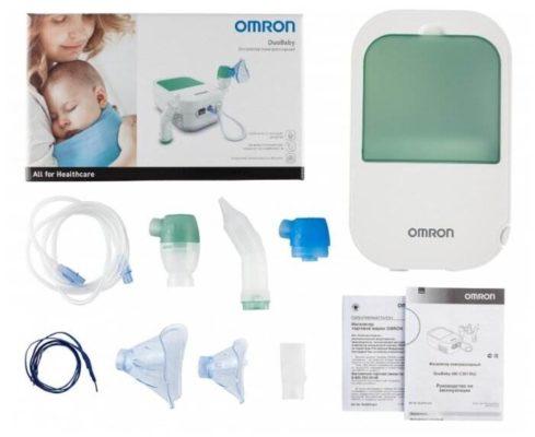 Компрессорный ингалятор (небулайзер) Omron Duo Baby
