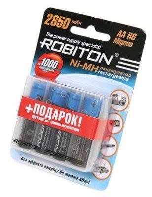 Ni-Mh 2850 мА·ч ROBITON AA R6 Mignon 2850