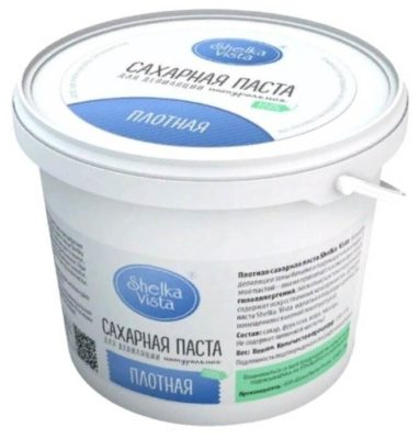 Паста для шугаринга Shelka Vista Плотная сахарная