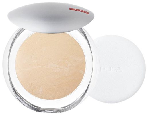 Pupa Luminys пудра компактная запеченная Silky Baked Face Powder