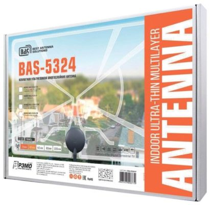 РЭМО BAS-5324-P Диаграмма