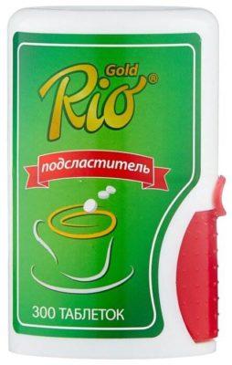 Rio Gold подсластитель таблетки