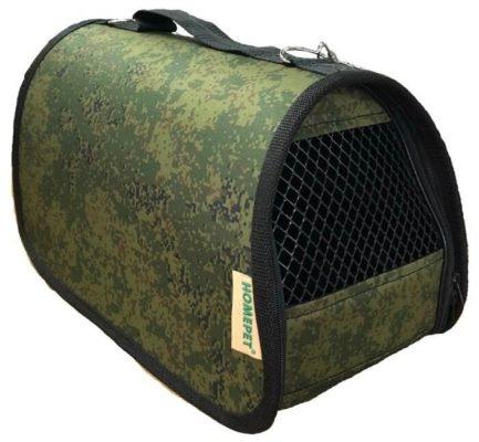Сумка-переноска для кошек и собак Homepet №2 39х25х26 см