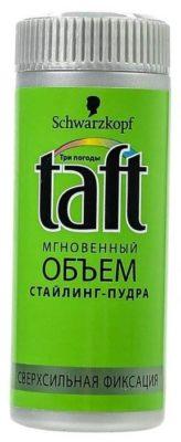 Taft Объем стайлинг-пудра, сверхсильная фиксация, 10 г