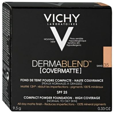 Vichy Dermablend Компактная пудра SPF25