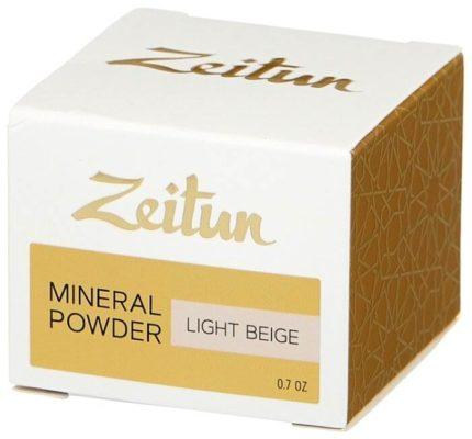 Zeitun минеральная рассыпчатая пудра