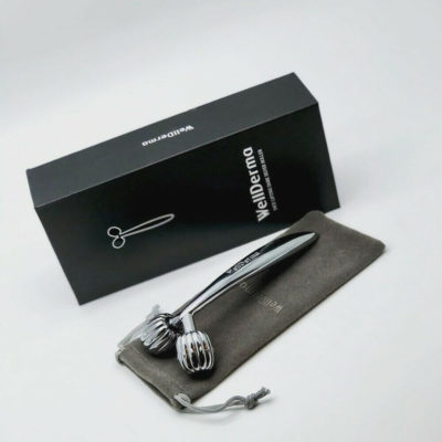 WELLDERMA FACE LIFTING ROLLER DARK SILVER