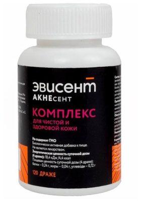 Эвисент Акнесент комплекс для чистой и здоровой кожи др. №120