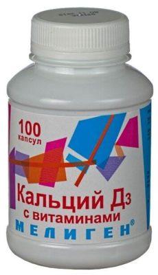 Кальций Д3 с витаминами капс. №100