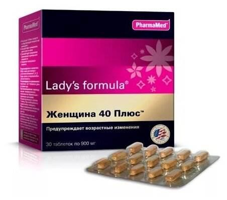 Lady's formula Женщина 40 Плюс таб. №30