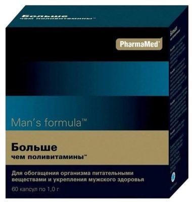 Мен-с формула больше чем поливитамины