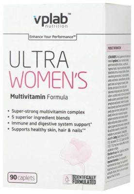 Минерально-витаминный комплекс vplab Ultra Women's (90 каплет)