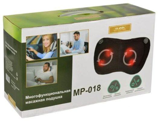 PLANTA массажная подушка MP-018 17.5x32x12 см