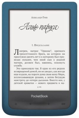PocketBook 641 Aqua 2 8 ГБ