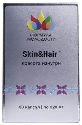 Skin and Hair (для кожи и волос) Красота изнутри