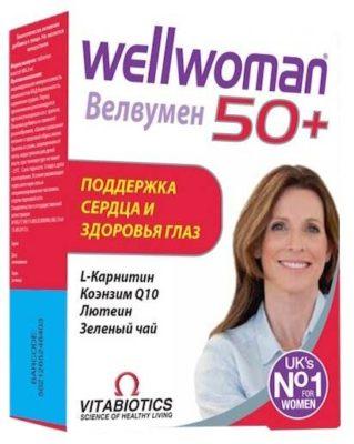 10 лучших витаминных комплексов для женщин старше 50 лет