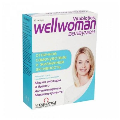 Wellwoman капс. №30