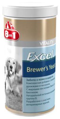 8 In 1 Excel Brewer's Yeast для кошек и собак