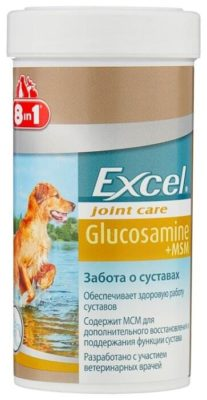 8 In 1 Excel Glucosamine+MSM
