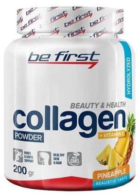 Be First Collagen + Vitamin C powder (200 г)