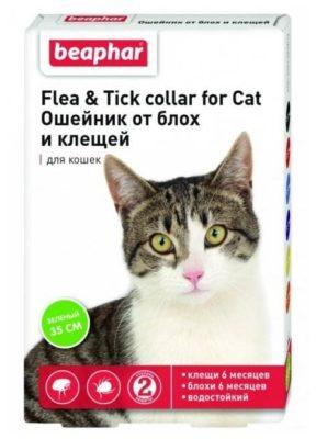 Beaphar ошейник от блох и клещей Flea & Tick для кошек