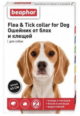 Beaphar ошейник от блох и клещей Flea & Tick для собак