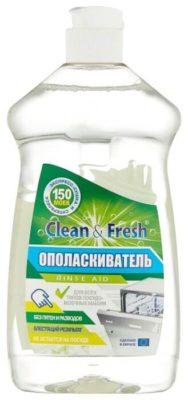 Clean & Fresh ополаскиватель для посудомоечной машины