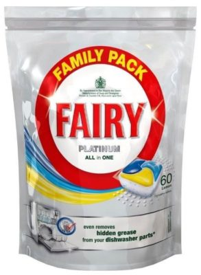 Fairy Platinum All in 1 капсулы (лимон)