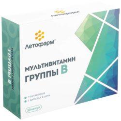 Мультивитамин группы В капс. №30