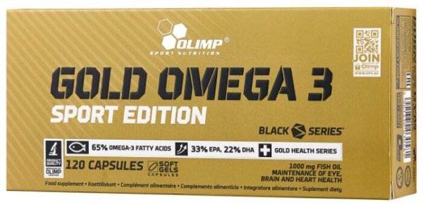 Olimp Sport Nutrition Gold Omega 3 Sport Edition (120 капсул)