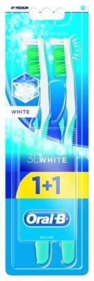 Oral-B 3D White отбеливание: средней жесткости