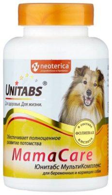 Unitabs MamaCare для беременных и кормящих собак