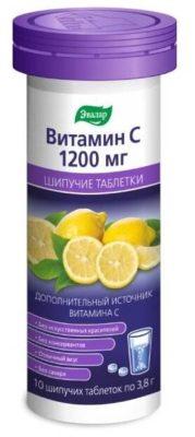 Витамин с 1200 таб. шип. №10