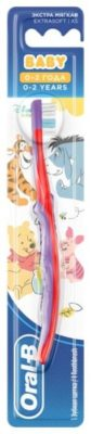 Зубная щетка Oral-B Baby от 0-2 лет