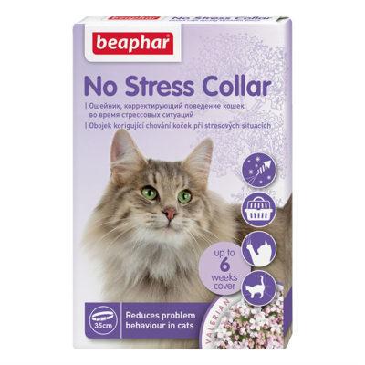 Ошейник Beaphar No Stress Collar для кошек успокаивающий