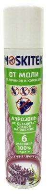Аэрозоль MoskiTek от моли с ароматом лаванды