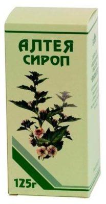 Алтей сироп фл. 125г