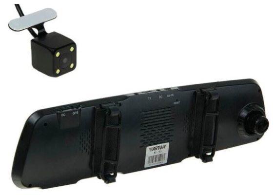 Artway MD-165 Combo 5 в 1, 2 камеры, GPS