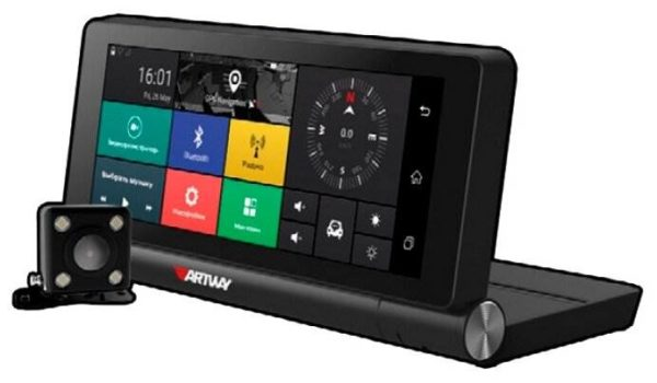 Artway MD-911, 2 камеры, GPS