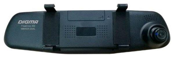 DIGMA FreeDrive 303 MIRROR DUAL, 2 камеры