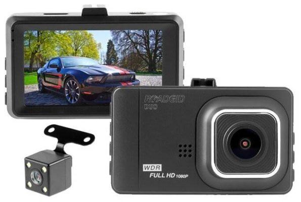 Roadgid Duo, 2 камеры