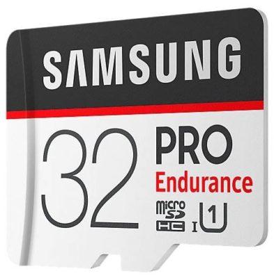 Samsung microSDHC PRO Endurance UHS-I U1 100MB/s + SD adapter