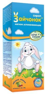 Сироп зайчонок успокаивающий 100мл д/детей 3+лет (Страна Здравландия)