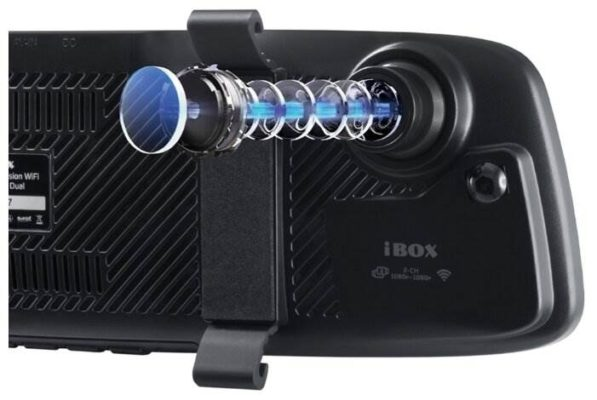 iBOX Range LaserVision WiFi Signature Dual, 2 камеры, GPS, ГЛОНАСС