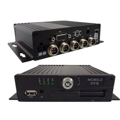 4-х канальный автомобильный AHD видеорегистратор 1080p + HDD до 2ТБ +1 SD (до 256GB)