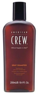 American Crew шампунь Gray для седых волос
