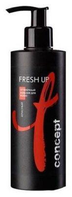 Concept оттеночный бальзам Fresh Up для волос, красный