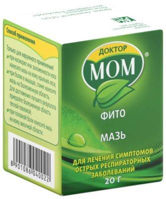 Доктор Мом ФИТО мазь д/нар. прим. 20 г