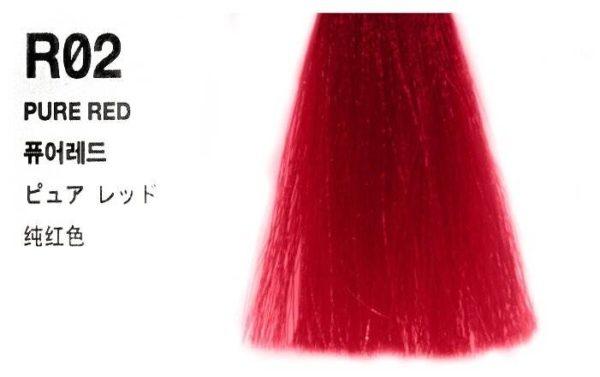 Гель ANTHOCYANIN Second Edition R02 Pure Red Насыщенный Красный